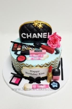 Edible makeup cake