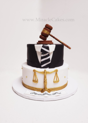 A cake for lawyer