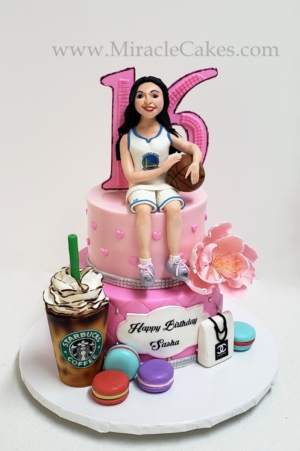 Cake for a Sweet Sixteen birthday