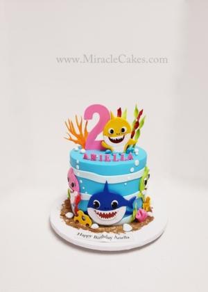 Baby Shark cake-2