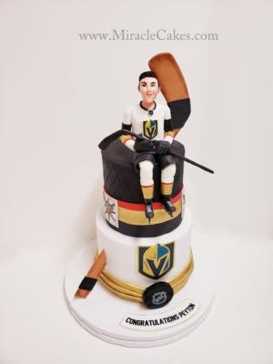 NHL hockey cake