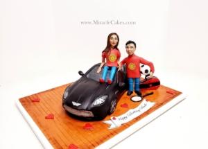 Aston Martin 3D cake