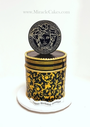 Versace themed cake