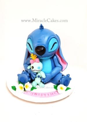 "3D ""Stitch"" cake"