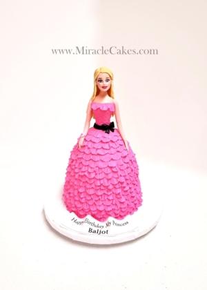 Barbie girl cake - All edible