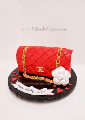 Chanel Purse-Red