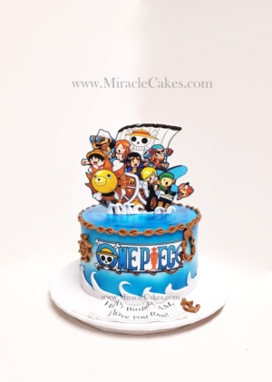 One Piece inspired cake
