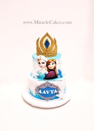 Disney's Frozen cake-2