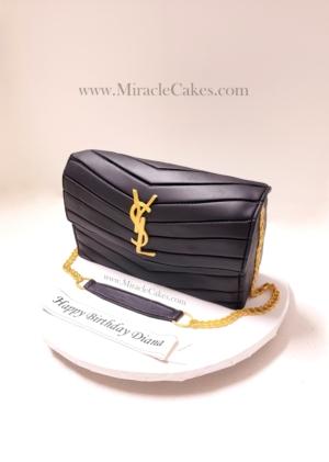YSL Purse cake