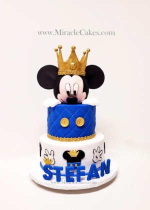 Prince Mickey cake