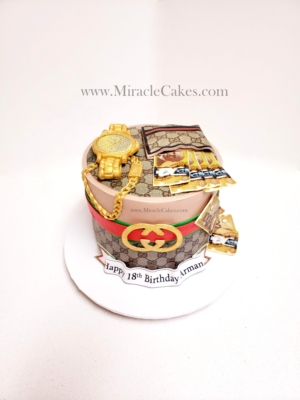 Gucci inspired cake 2