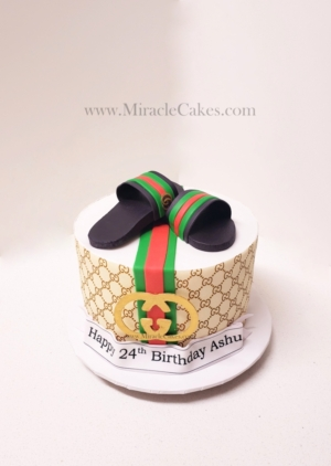 Gucci inspired cake 3