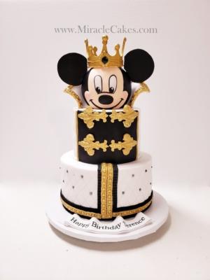 Prince Mickey Mouse cake-2