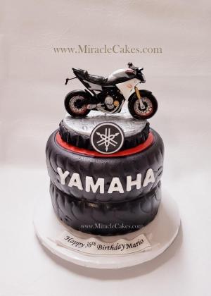 Yamaha theme cake
