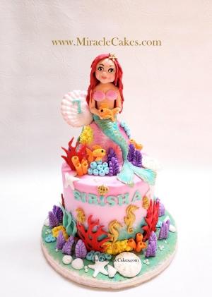Mermaid cake-2